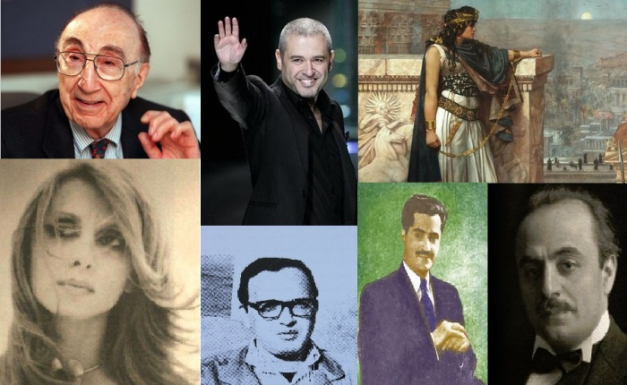 SEVEN INFLUENTIAL HUMANS FROM LEBANON