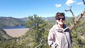 Hiking landscape photo..