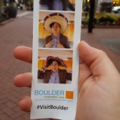 Fun time and Instant photographs at Pearl St Mall